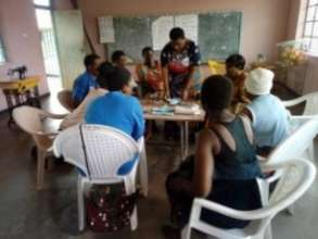 Sanitary Pad Making Training for Mothers Groups