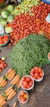 Produce at a Rwanda market
