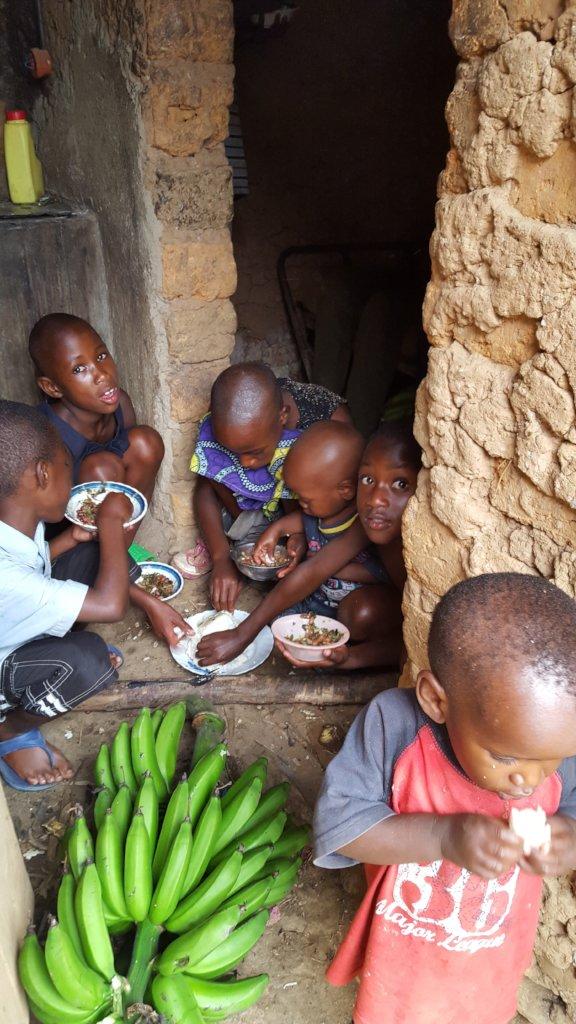 Pandemic Food Relief for Families in Rwanda