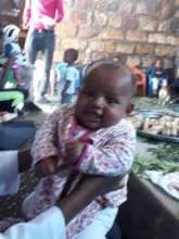 Babies are much loved at Abraham's Oasis