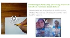 Whatsapp classes by Teacher Siria, Guanacaste