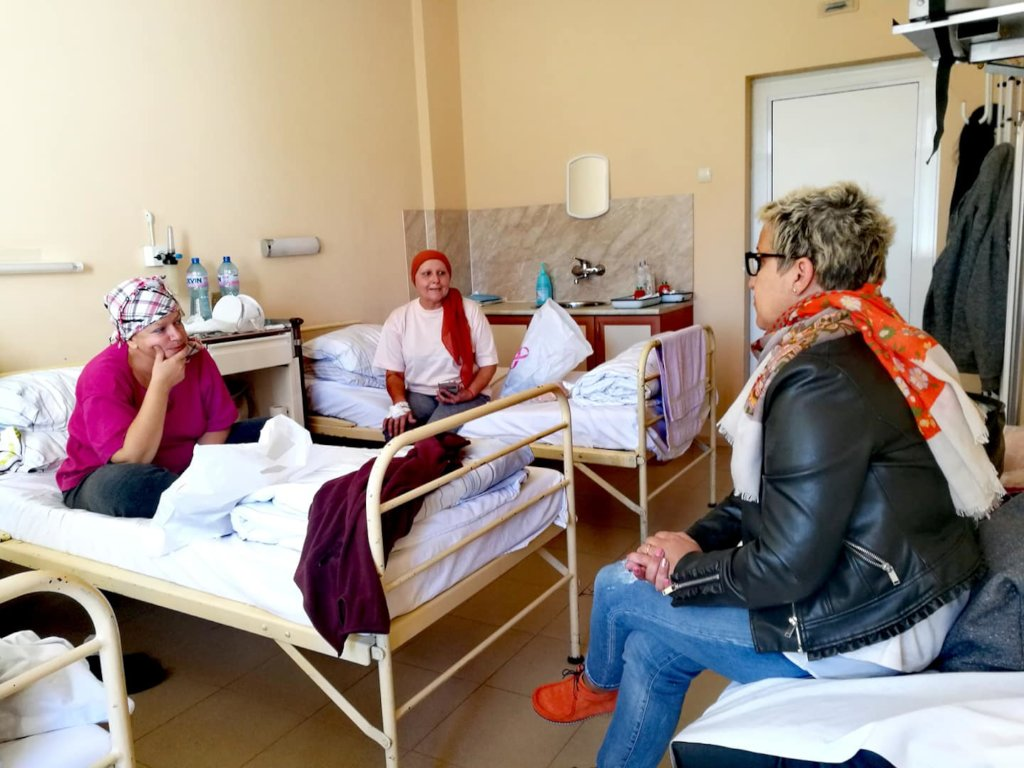 Free services to cancer patients in Bulgaria
