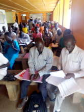 Creating awareness about COVID 19 in Arua District