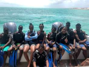 BVI kids snorkeling!