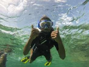 Another happy snorkeler!