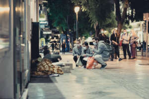 Streetwork - Psychosocial support during Covid-19