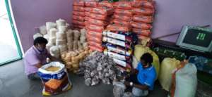 Food Groceries material support for migrant worker
