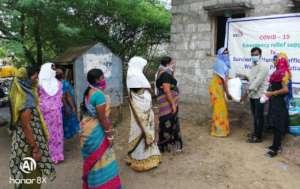 food material distribution