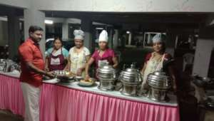 Catering Service by our project beneficiaries