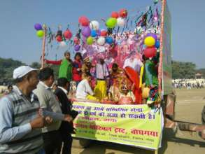 Rescue Junction protest against child marriage