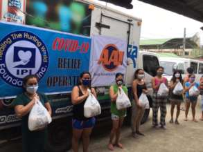 AAI and local partners deliver aid in remote areas