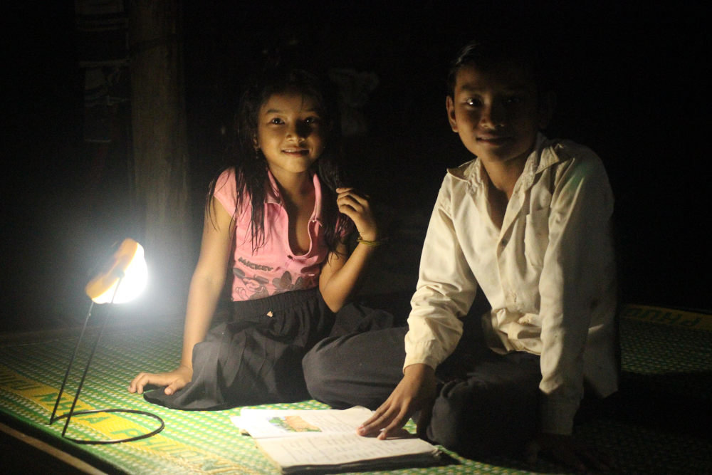 Solar micro-grids in remote Cambodian villages