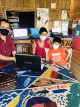 Donating laptops