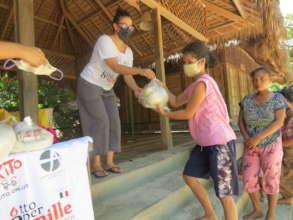 Distribution of food supplies