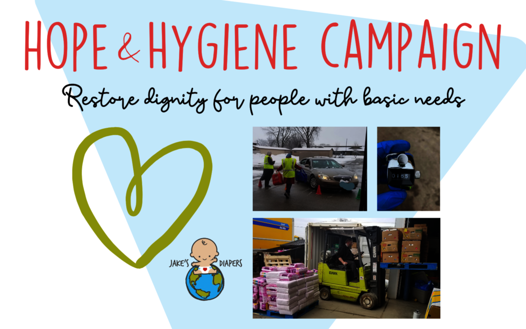 Hope&Hygiene: Support Increased Needs from COVID19