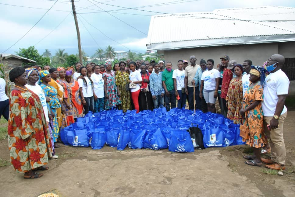 FEED 100 IDP FAMILIES IN CAMEROON