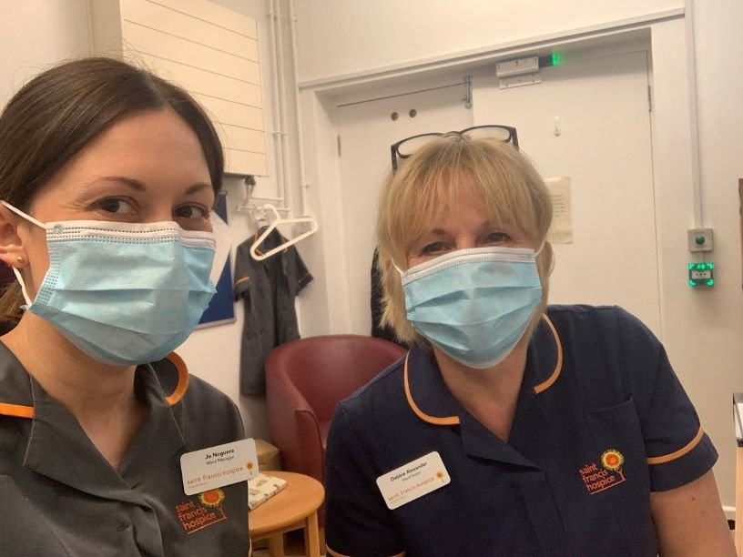 COVID-19: Help us/help St Francis Hospice with PPE