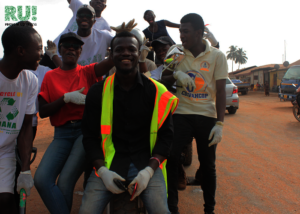 Community Cleanup in Fumesua: Group picture