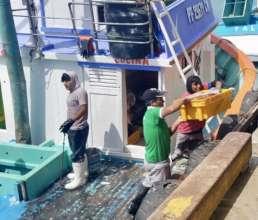 Transporting fish pre-COVID