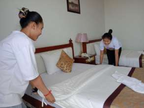 Practicing housekeeping