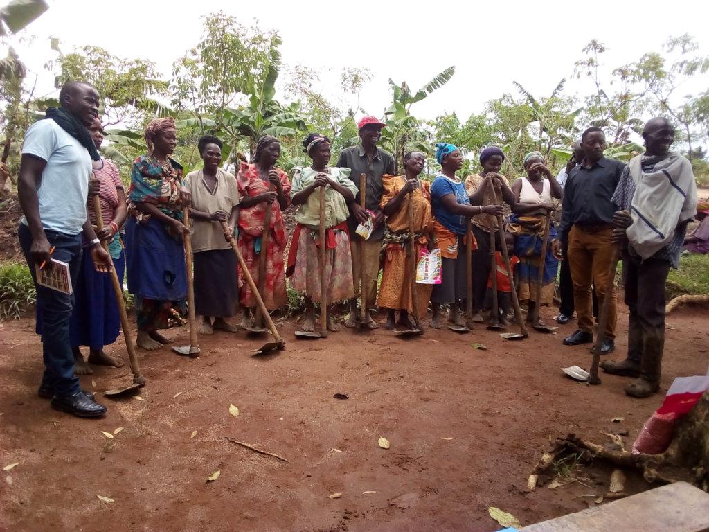 Re-capitalizing 2000 rural farmers in Uganda
