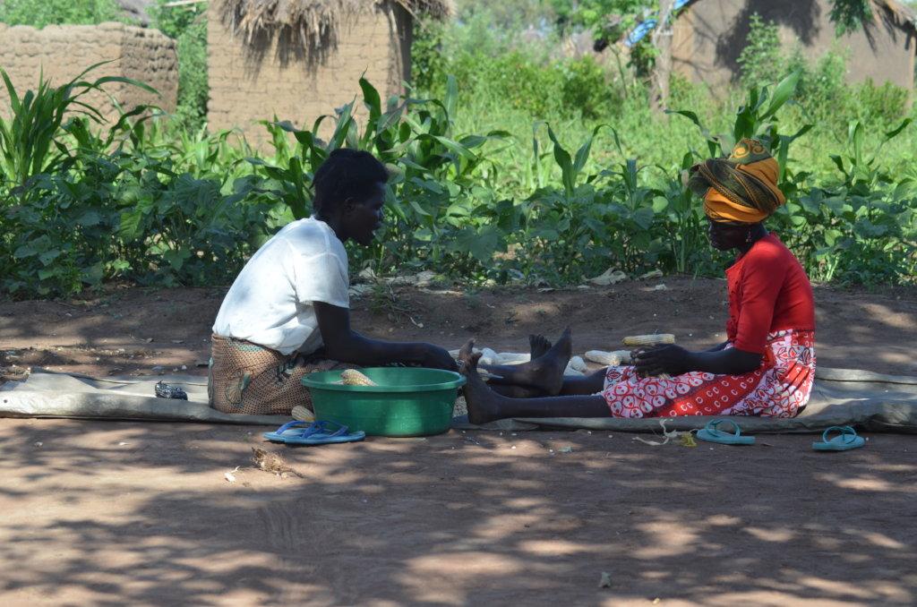 Help 2000 refugee women establish vegetable garden