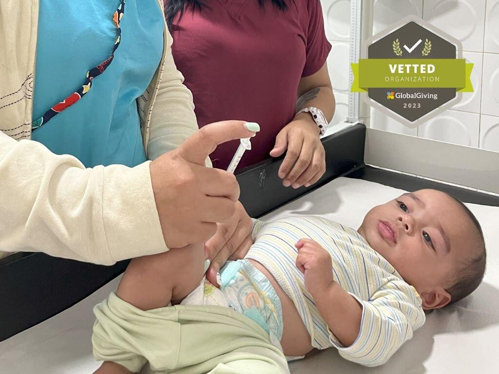 Pediatric care for 200 parentless children.