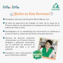 Knowing our founder, Ana Serrano