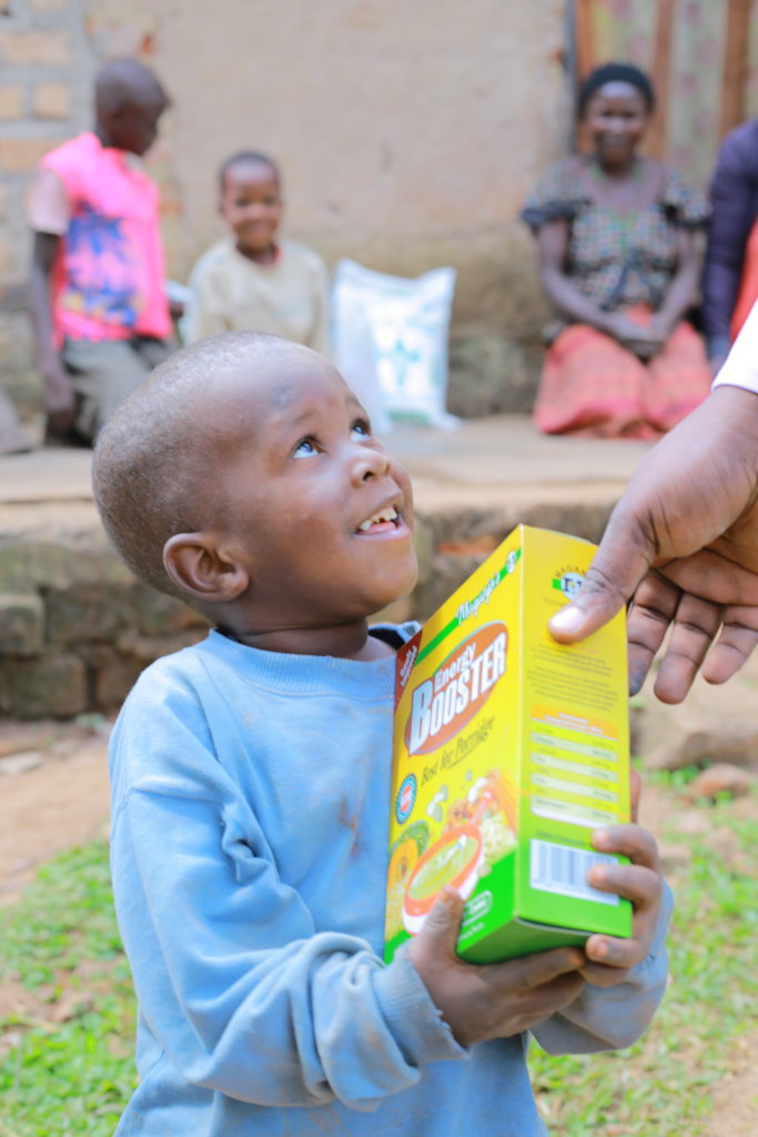Improving nutrition needs for 250 HIV+ children.