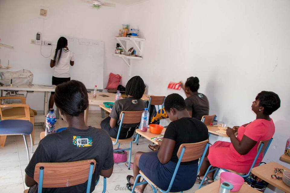 PROVIDING 20 GIRLS WITH SEWING MACHINES IN GHANA