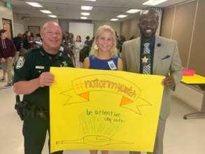 Law Enforcement and School Principal