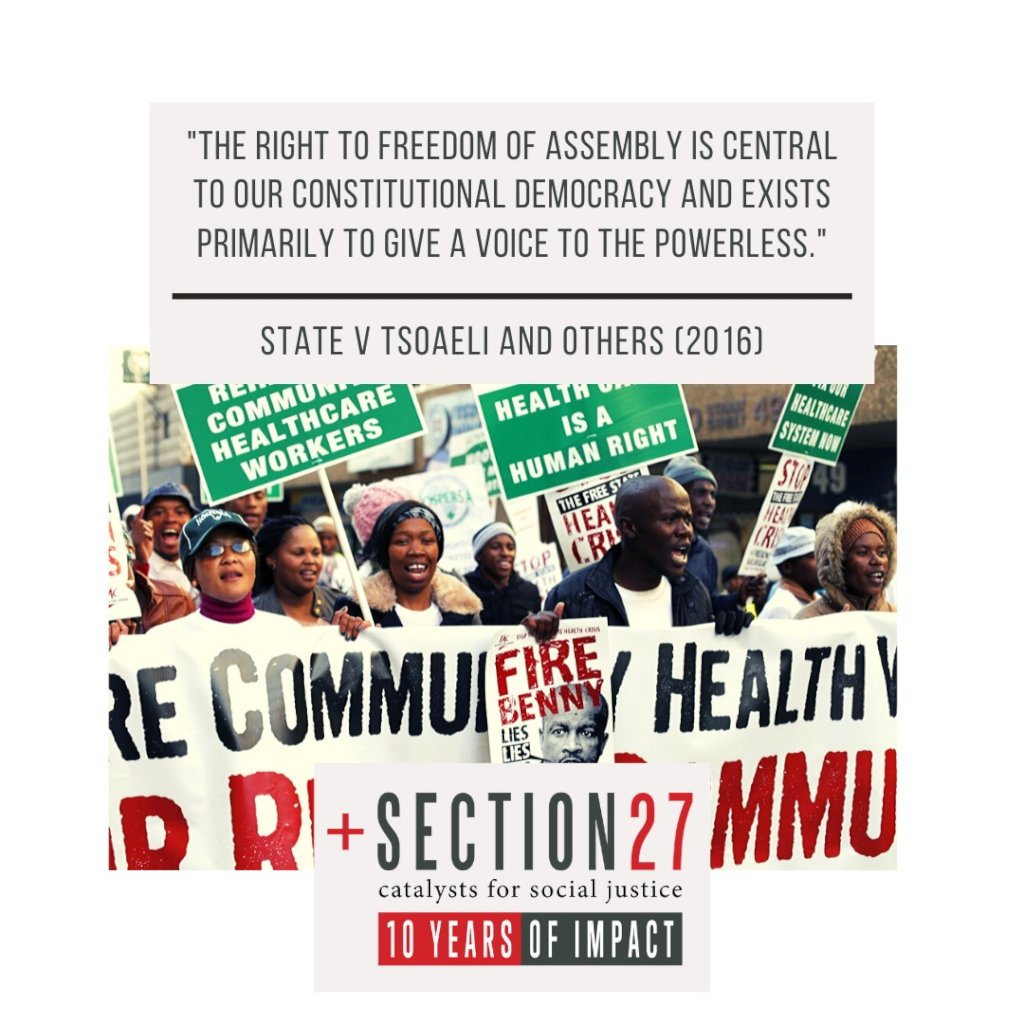 Health & Education rights for all in South Africa