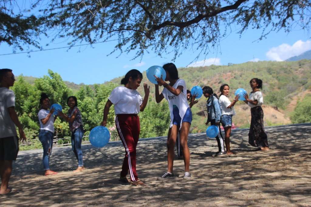 Support youth in four communities in Timor-Leste