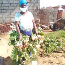 Lesidi's garden gives her a sense of purpose
