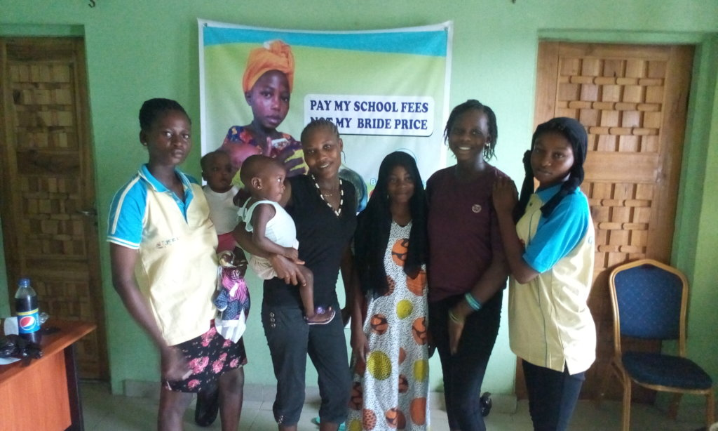 Educate 5 Adolescents Girls in Imude Community
