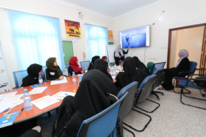 part of the training