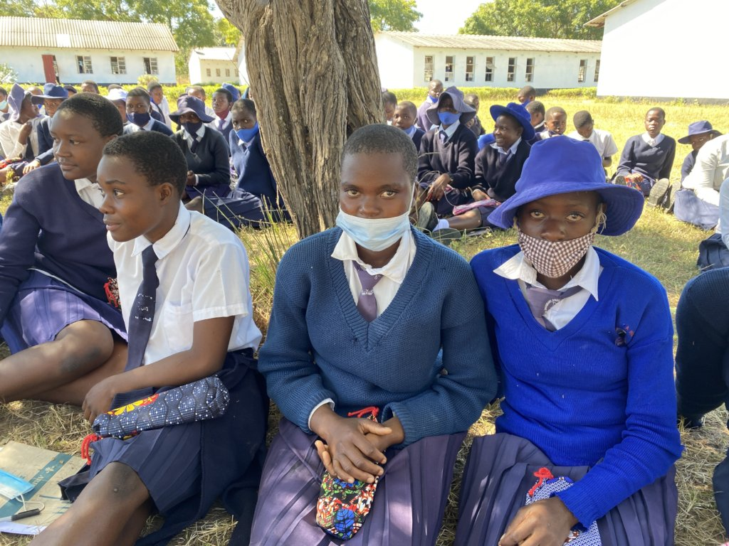 #EndPeriodPoverty for 250 Girls in Rural Zimbabwe