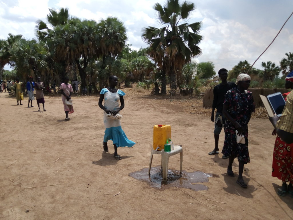 Empowering poor to fight COVID-19 in South Sudan