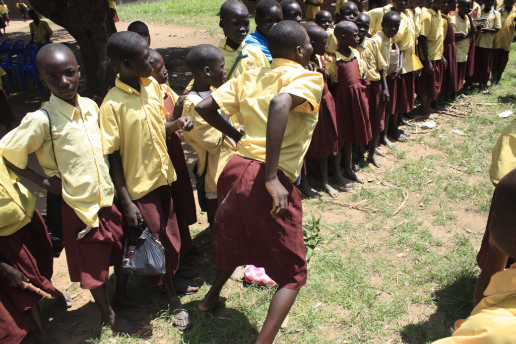 SANITIZING THE ADOLESCENT GIRLS IN NORTHERN UGANDA