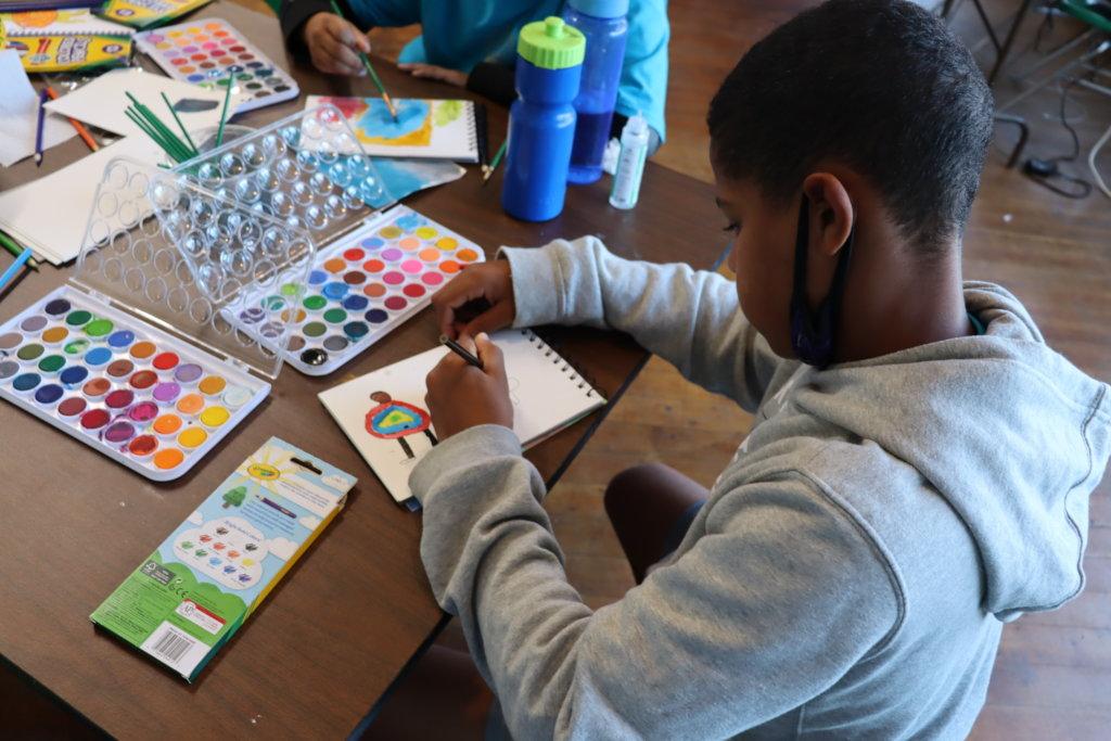 Virtual Creativity Camp for Positive Mental Health