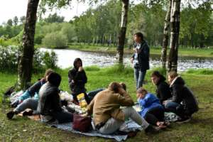 Our end of term picnic