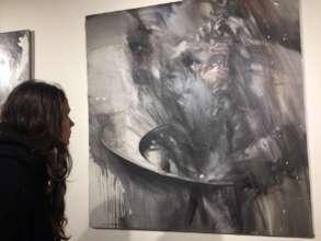 Nastya at the gallery
