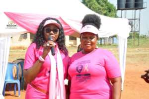Breast Cancer Survivor Honoree with the President