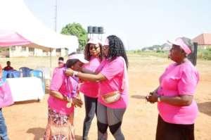 ASA Women USA honoring a breast cancer survivor 2