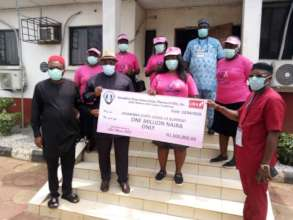 Donation to Anambra Sate Covid-19 Support