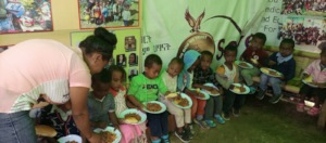 It is priceless to feed all the children!