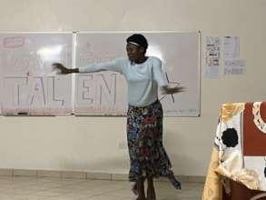 Sharing Burundian Dance