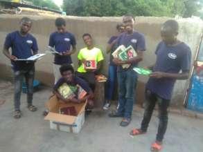 TWEENS with book donation