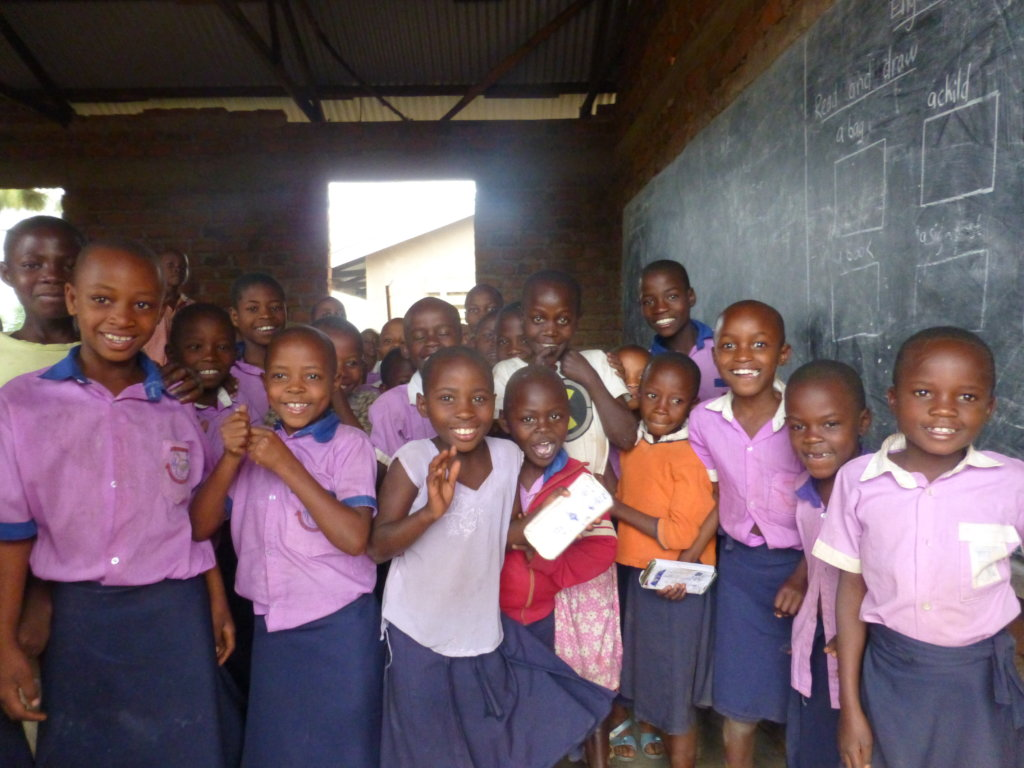 Support 100  vulnerable rural girls keep in school
