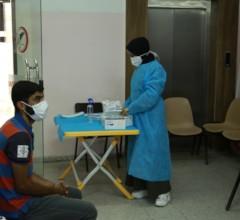 Triage Point at Al Awda Health Center- Jabalia